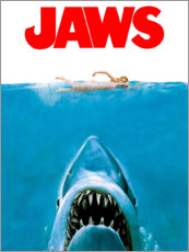 Stampa su legno  Jaws - Entertainment Collection