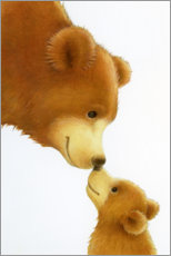 Poster Premium  Big Bear, Little Bear - Lisa Alderson