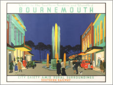 Poster Premium  Bournemouth (Inglese) - Henry George Gawthorn