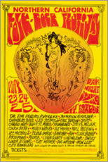 Poster Premium  Northern California Folk-Rock Festival (inglese) - Entertainment Collection