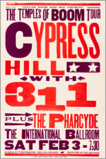 Stampa su tela  Cypress Hill, con 311, concerto 1996 - Entertainment Collection