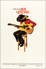 Poster Premium  Jimi Hendrix, 1973 - Entertainment Collection