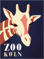 Poster Premium  Zoo di Colonia (tedesco) - Advertising Collection