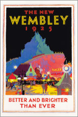 Poster Premium  Il nuovo Wembley 1925 (inglese) - Gregory Brown