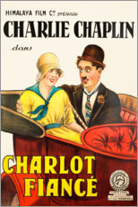 Stampa su vetro acrilico  Charlot Fiancé (Charlot prende moglie) - Entertainment Collection
