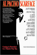 Poster Premium  Scarface (inglese) - Entertainment Collection