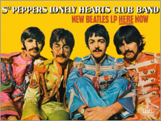 Poster Premium  Sgt. Pepper's Lonely Hearts Club Band - Entertainment Collection