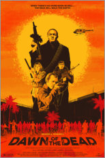Poster Premium Dawn of the Dead (Zombi)