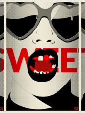 Poster Premium  Sweet - dolceQ