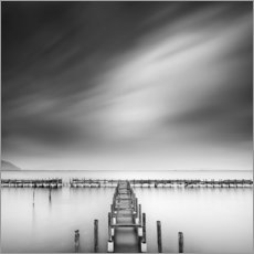 Poster Premium  Al mare - George Digalakis