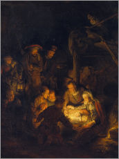 Adesivo murale Adoration of the Shepherds. 1646