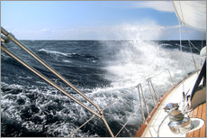 Stampa su plexi-alluminio  Sailing through the storm - Jan Schuler