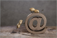 Stampa su plexi-alluminio  Simple Things - Email - Nailia Schwarz