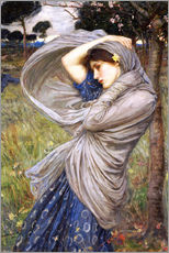 Adesivo murale  Bora - John William Waterhouse
