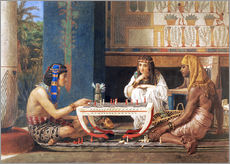 Adesivo murale  Egyptian Chess Players - Lawrence Alma-Tadema