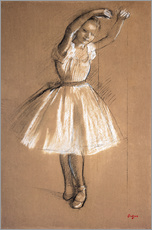 Adesivi murali  Small dancer - Edgar Degas
