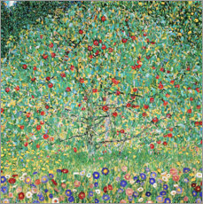 Stampa su legno  Apple Tree I - Gustav Klimt