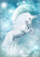 Adesivi murali  Unicorn on my way - Dolphins DreamDesign