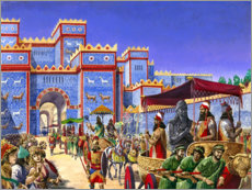 Stampa su plexi-alluminio  New Year's Day in Babylon - Peter Jackson