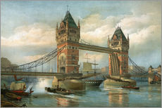 Adesivo murale  Tower Bridge, London - English School