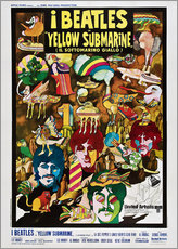 Adesivi murali  The Beatles - Yellow Submarine