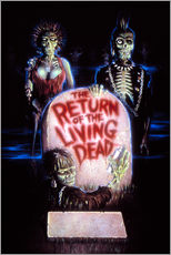 Stampa su plexi-alluminio  The Return of the Living Dead