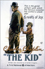 Adesivi murali  Chaplin: The Kid, 1920