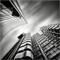 Adesivo murale Lloyds London | 01 (black/white)
