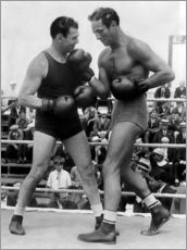 Adesivo murale  Jack Dempsey and Max Baer