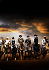Stampa su plexi-alluminio  THE MAGNIFICENT SEVEN