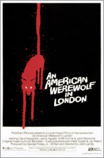 Poster Premium  An American Werewolf in London