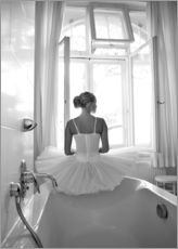 Adesivi murali  Ballerina the bathroom - Jenny Stadthaus