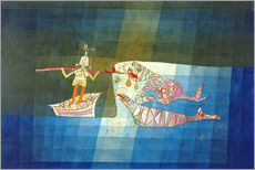 Stampa su plexi-alluminio  Sinbad the Sailor - Paul Klee