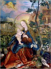 Adesivo murale  The Stuppacher Madonna. Around 1520 - Matthias Grünewald