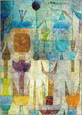 Adesivi murali  Plants early in the morning - Paul Klee