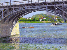 Adesivo murale  Ponte ad Argenteuil - Gustave Caillebotte