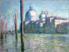 Adesivo murale  The Grand Canal - Claude Monet