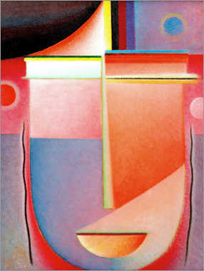 Poster Premium  Abstract head: Interior look - Alexej von Jawlensky