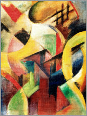 Poster Premium  Small composition I - Franz Marc