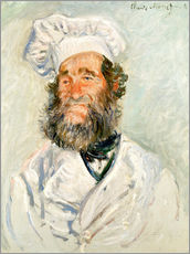 Adesivi murali  The chef - Claude Monet