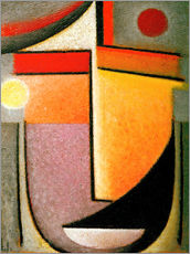 Stampa su plexi-alluminio  Abstract head: Morning light - Alexej von Jawlensky