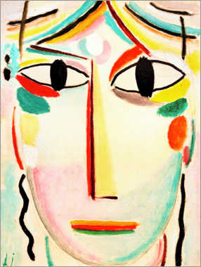 Poster Premium  Face of the Saviour - Alexej von Jawlensky