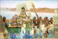 Adesivo murale  The Finding of Moses by Pharaoh's Daughter - Lawrence Alma-Tadema