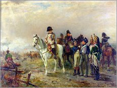 Stampa su plexi-alluminio  The Turning Point at Waterloo - Robert Alexander Hillingford