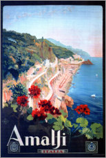 Stampa su plexi-alluminio  Italia - Amalfi - Travel Collection