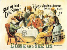 Adesivo murale  Dog Show - Advertising Collection