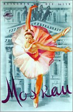 Adesivo murale  Moscow - Russian ballet - Advertising Collection