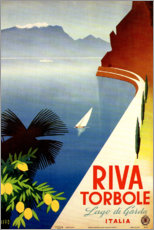 Poster Premium  Riva Torbole (Lago di Garda) - Travel Collection