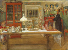 Adesivi murali  Getting Ready for a Game - Carl Larsson