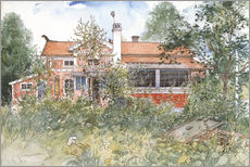 Stampa su plexi-alluminio  The Cottage - Carl Larsson